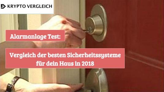 Alarmanlage-Test
