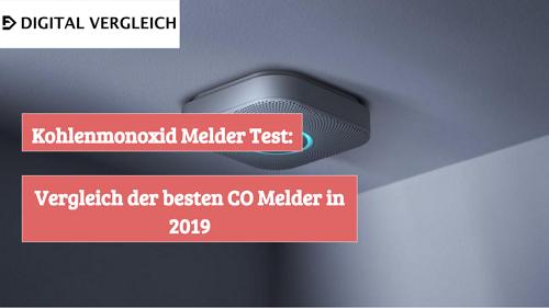 Kohlenmonoxid Melder Test