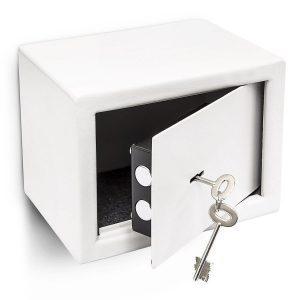 Relaxdays Mini Wandtresor mit Schlüssel