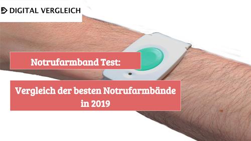 Notrufarmband Test