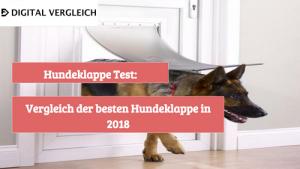 Hundeklappe Test Vergleich der besten Hundeklappe in 2018