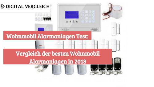 Wohnmobil Alarmanlagen Test Vergleich der besten Wohnmobil Alarmanlagen in 2018