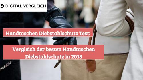 Handtaschen Diebstahlschutz Test
