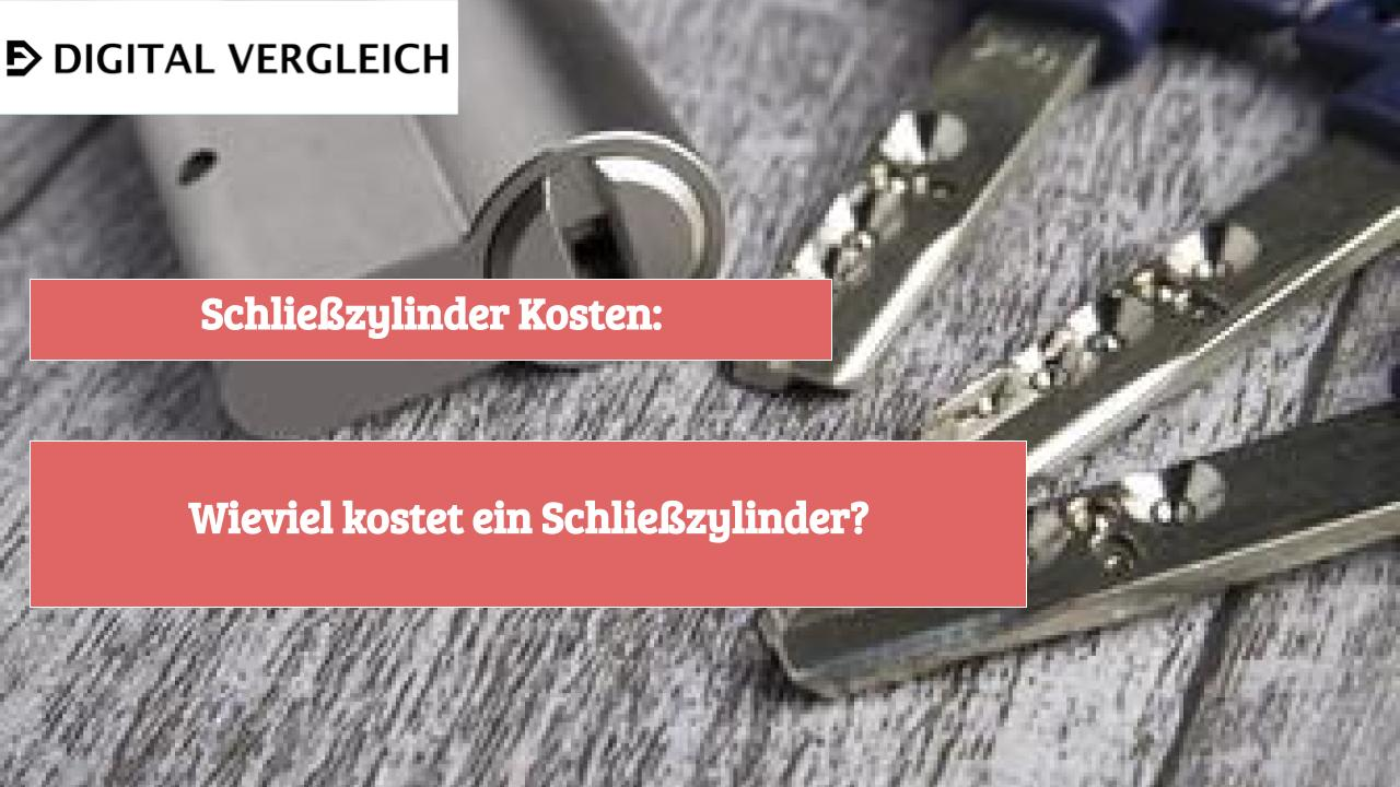 Schließzylinder Kosten: Wieviel kostet ein Schließzylinder?