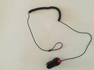 Elektronische Leinensicherung mit 1 Klebekontakt