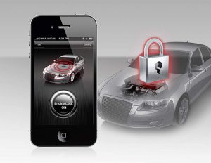 STEELMATE SMART ENGINE LOCK FOR ANDROID AUTO ALARMANLAGE