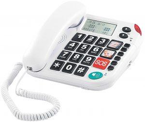Notruf-Senioren-Telefon XLF-80Plus von Simvalley