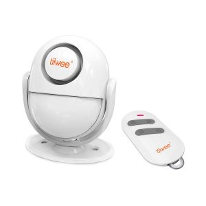 tiiwee A2 PIR Bewegungsmelder Alarm mit Fernbedienung